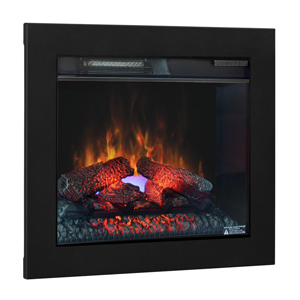 ClassicFlame 23-In SpectraFire Plus Fireplace & Flush Mount Conversion Kit - 23EF031GRP & BBKIT23