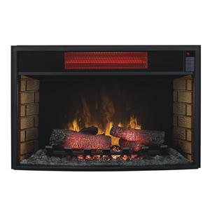 ClassicFlame 32-In Spectrafire Infrared Electric Fireplace Insert - 32II310GRA