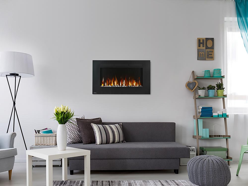 Napoleon 42 Allure Wall Mount Electric Fireplace Nefl42fh Napoleon
