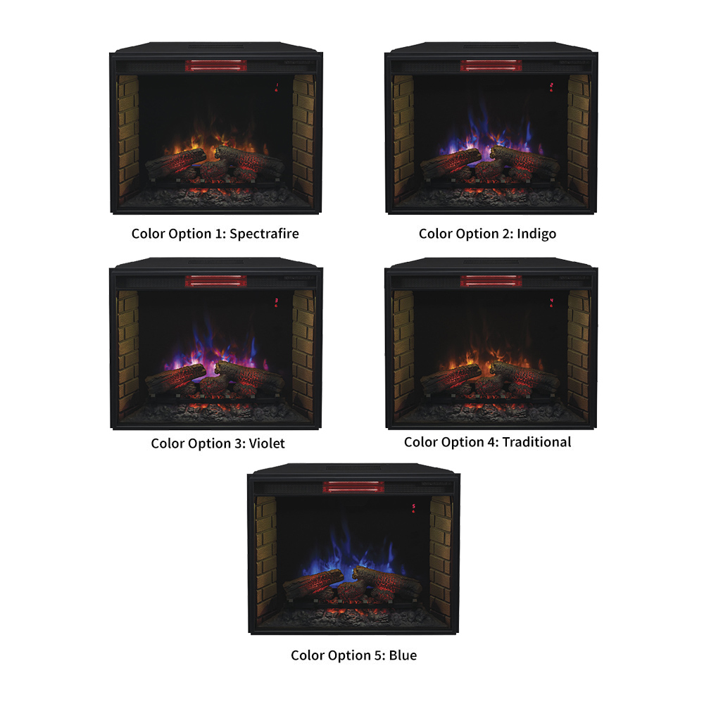 convertible insert carrington ivory infrared previous fireplace faux slate