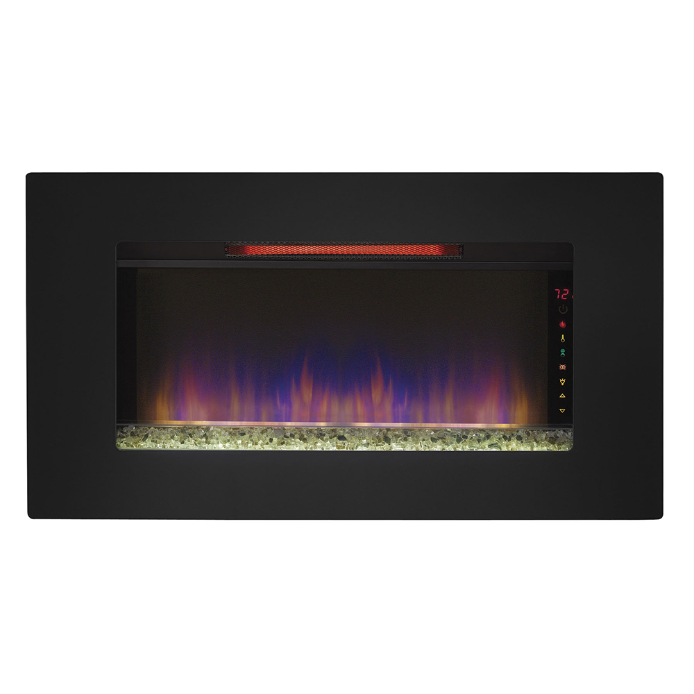 classicflame in elysium infrared wall hanging electric  - classicflame in elysium infrared wall hanging electric fireplace iigrg