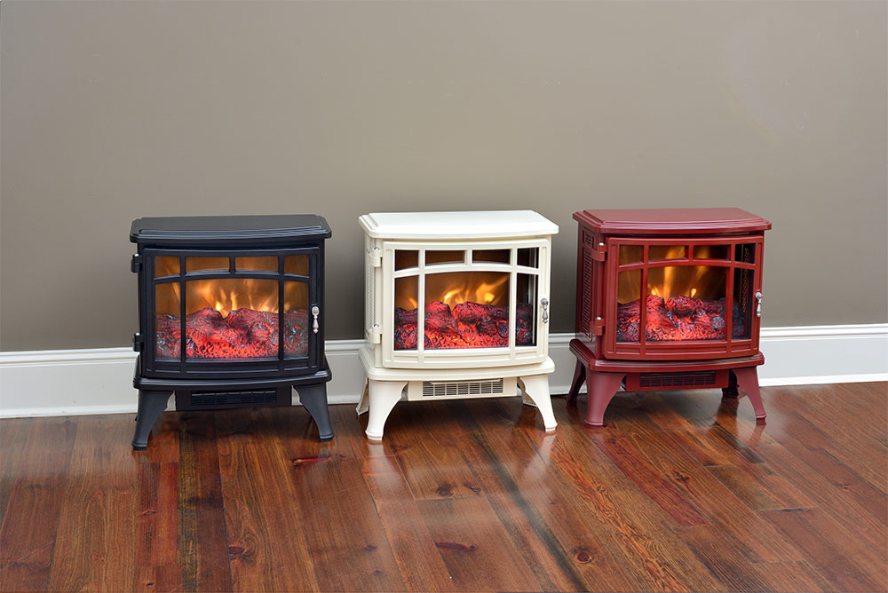 Fireplace Design powerheat infrared quartz fireplace : Duraflame 8511 Black Infrared Electric Fireplace Stove with Remote ...