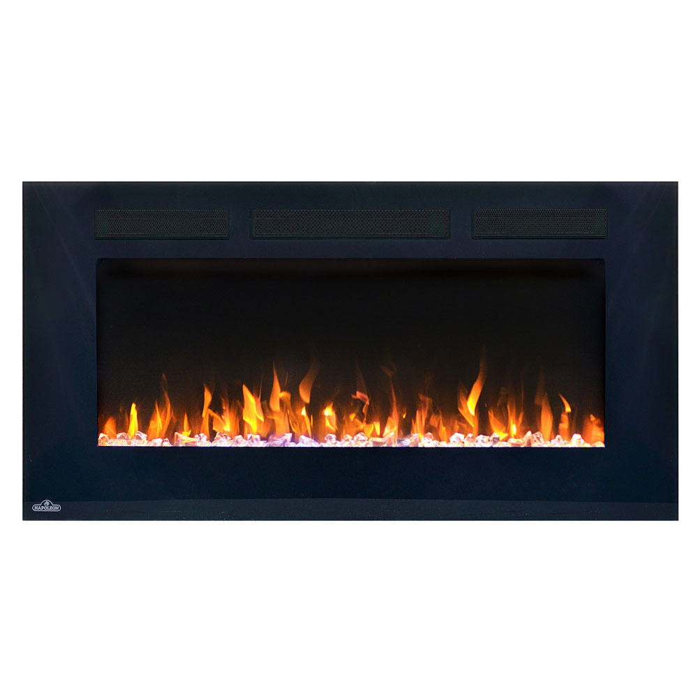 Pleasant Napoleon 50 In Allure Wall Mount Electric Fireplace Nefl50Fh Beutiful Home Inspiration Ommitmahrainfo