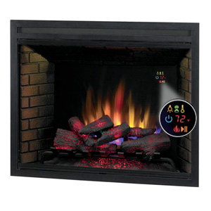 ClassicFlame 39-In LED Builders Electric Firebox with Fixed Glass - 39EB500GRA