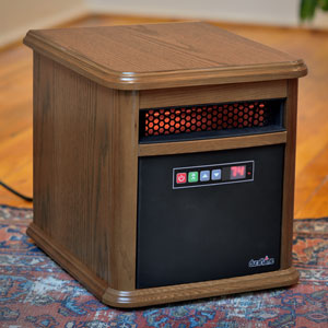 Duraflame Bristol 1,000 Sq. Ft. Infrared Heater in Oak - 9HM9126-O142