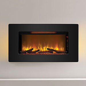 ClassicFlame 36-In Elysium Infrared Wall Hanging Electric Fireplace - 36II100GRG