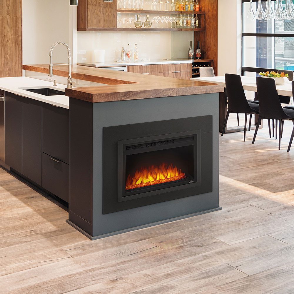 24 Quot Nefb24hg Built In Electric Fireplace Napoleon