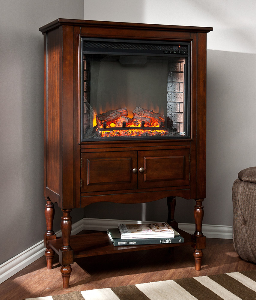 providence wall or corner electric fireplace mantel