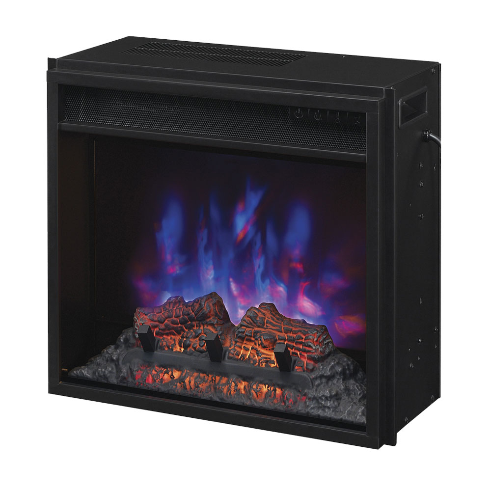 Plug In Electric Fireplace Inserts: ClassicFlame 18-In SpectraFire Plus Electric Fireplace