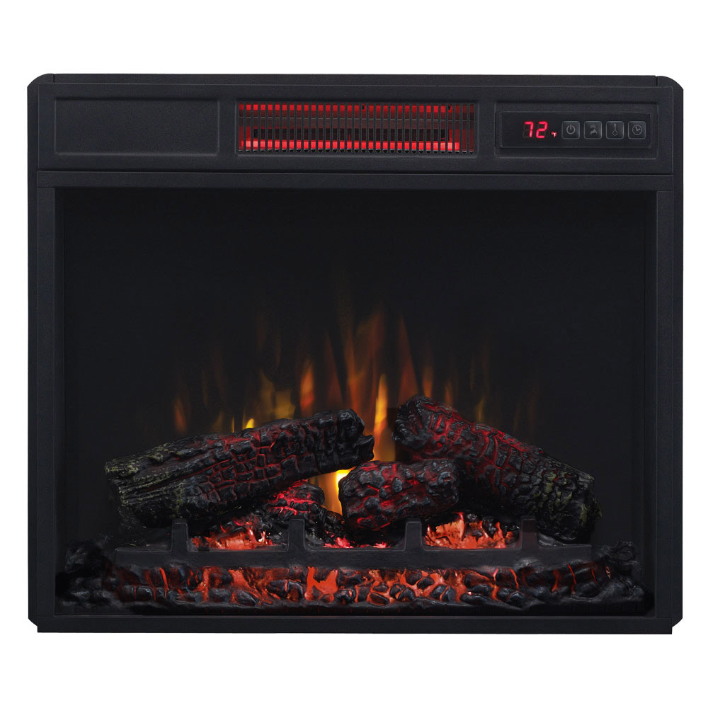 Classicflame 23 In Spectrafire Infrared Electric Fireplace Insert 23ii033fgl