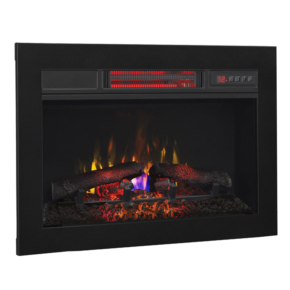 Classicflame 26 In Infrared Fireplace Insert Flush Mount Conversion Kit 26ii033fgl Bbkit 26