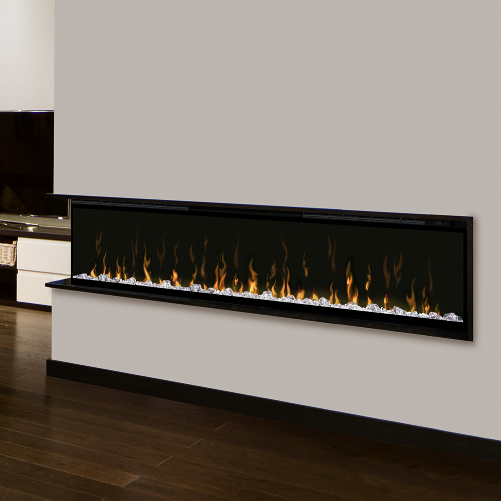 dimplex ignitexl 74 in electric fireplace xlf74