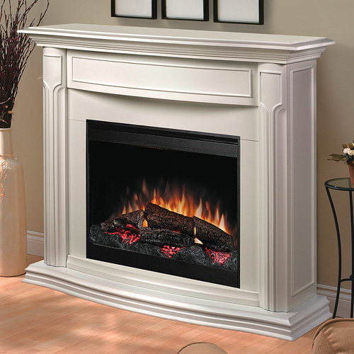 addison white electric fireplace mantel package dfp69139w