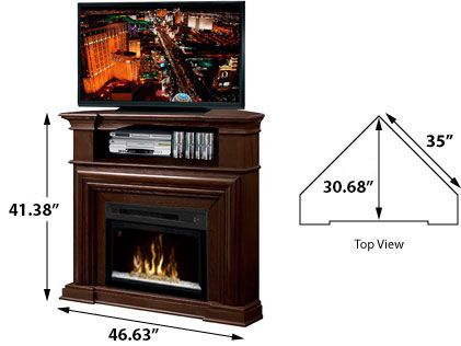 DIMPLEX ELECTRIC FIREPLACES - HEAT SOURCE: ELECTRIC