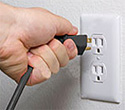 Plugs into a standard 120V household outlet