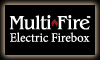 Multi-fire™ Electric Fireplace