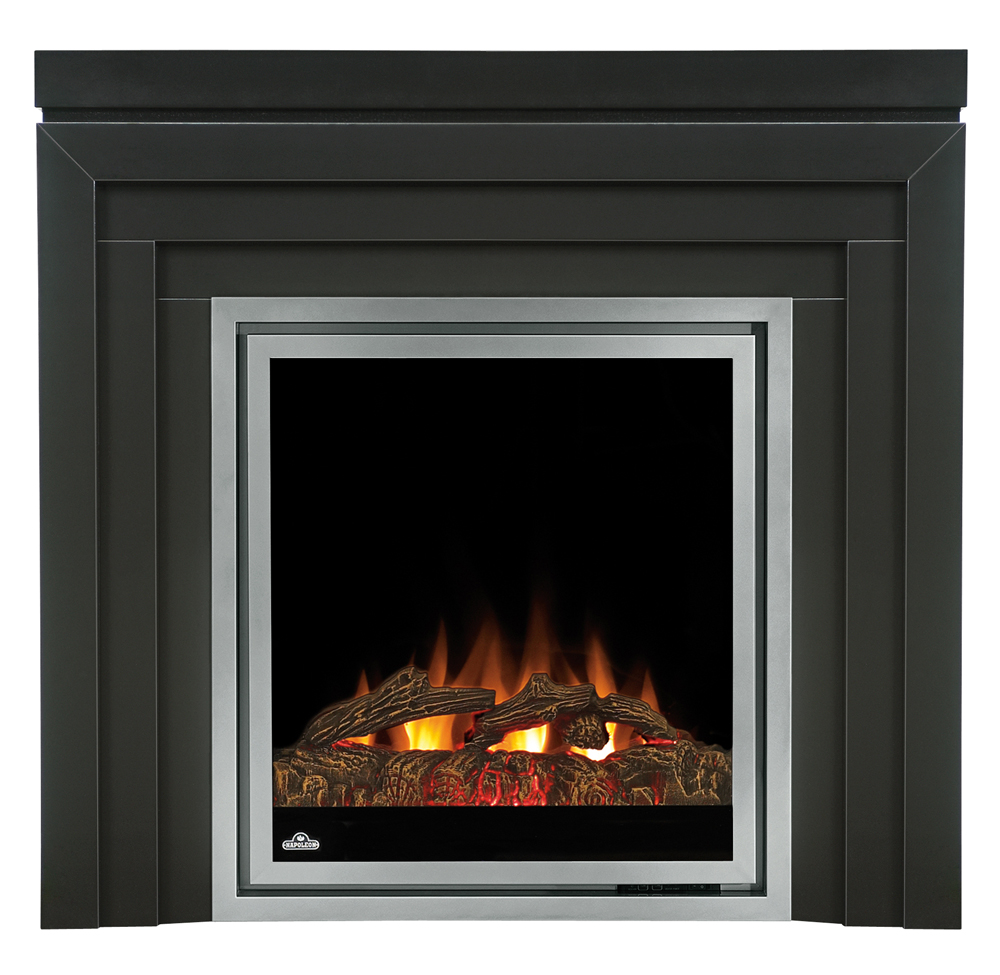 Napoleon 30 In Plug In Electric Fireplace Insert W Logs Ef30