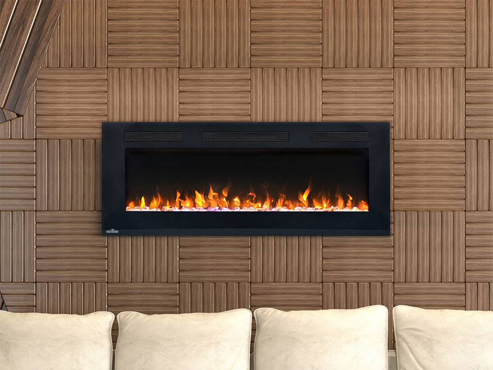 Napoleon 42 In Allure Wall Mount Electric Fireplace Nefl42fh