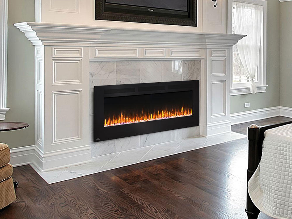 Napoleon 60 Allure Wall Mount Electric Fireplace Nefl60fh