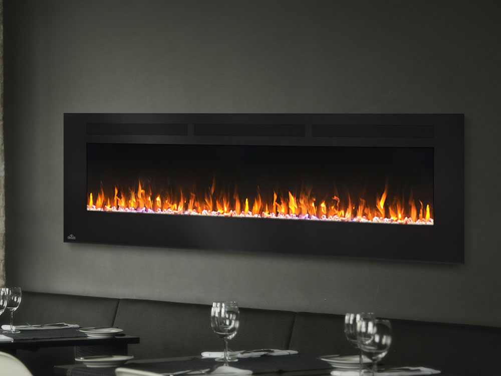 Napoleon 72 Quot Allure Wall Mount Electric Fireplace