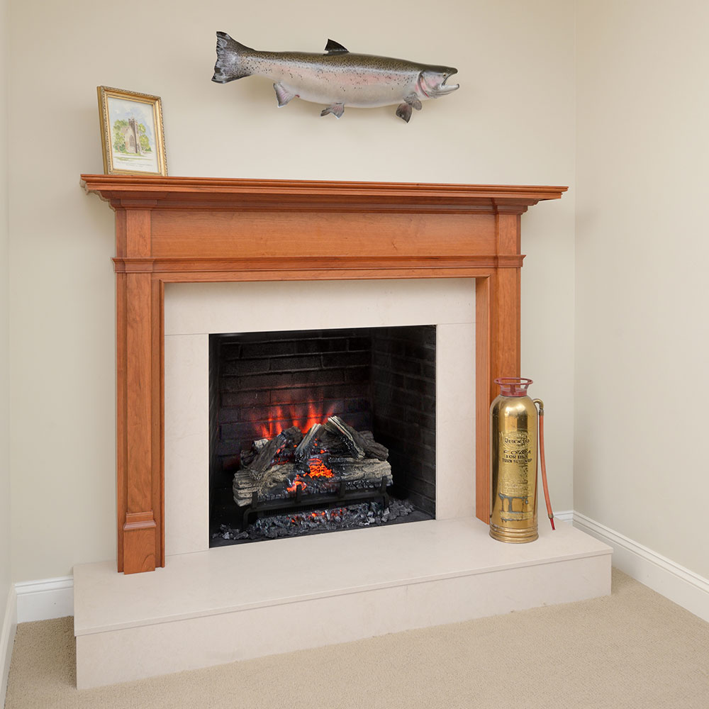 Napoleon Woodland 27 Inch Electric Fireplace Insert Log