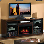 ClassicFlame Alexander Midnight Cherry Electric Fireplace Media Console Package 26MM1404-C245