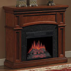 ClassicFlame Nantucket Electric Fireplace Mantel Package