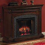 ClassicFlame Saranac Electric Fireplace Mantel Package