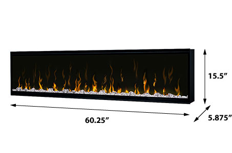 Dimplex Ignite Xl 60 Quot Linear Electric Fireplace Xlf60