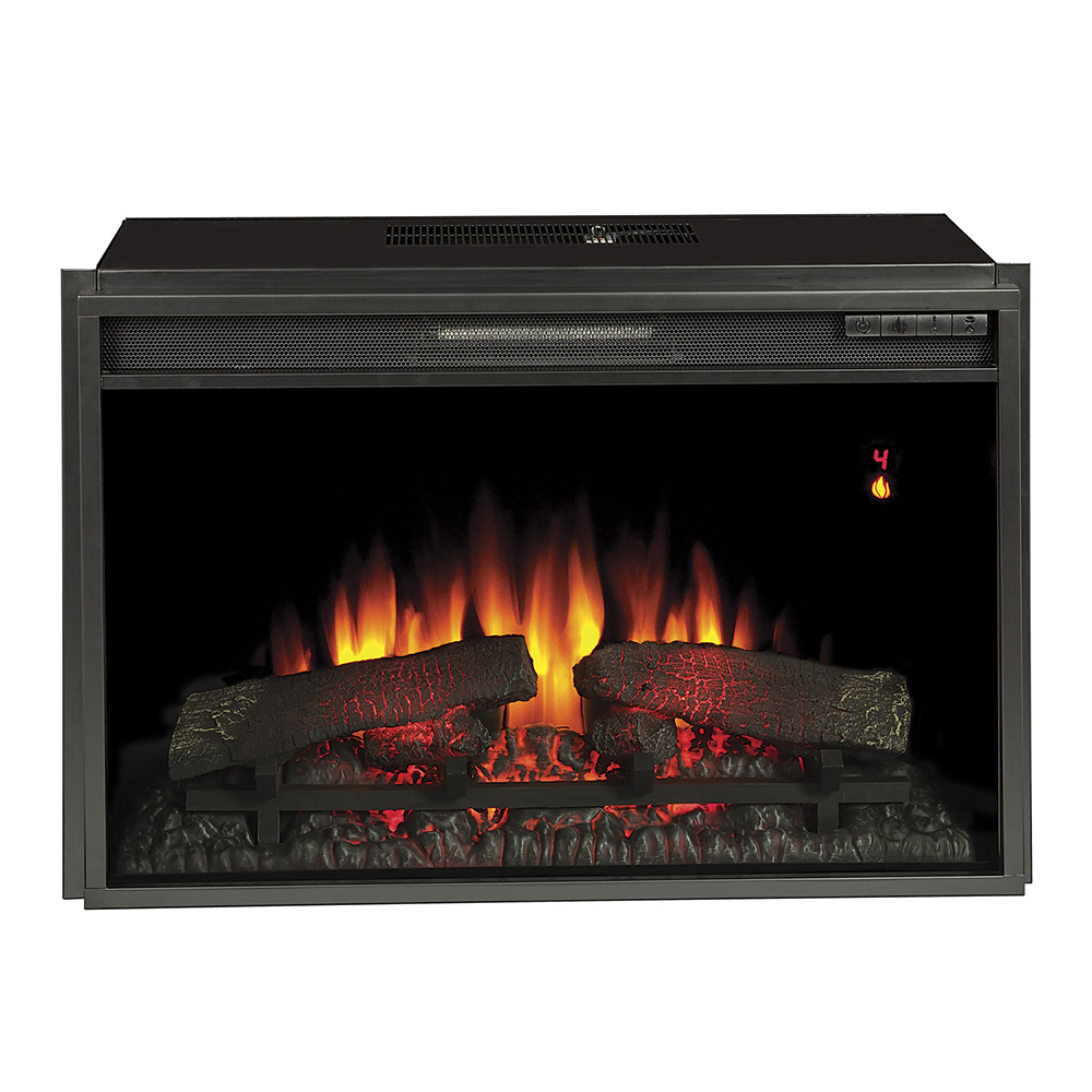 Plug In Electric Fireplace Inserts: ClassicFlame 26-In SpectraFire Plus Electric Insert And