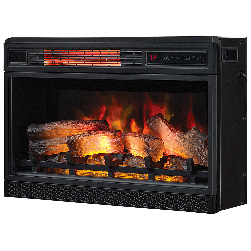 Classicflame 26 In 3d Spectrafire Plus Infrared Electric Fireplace Insert 26ii042fgl