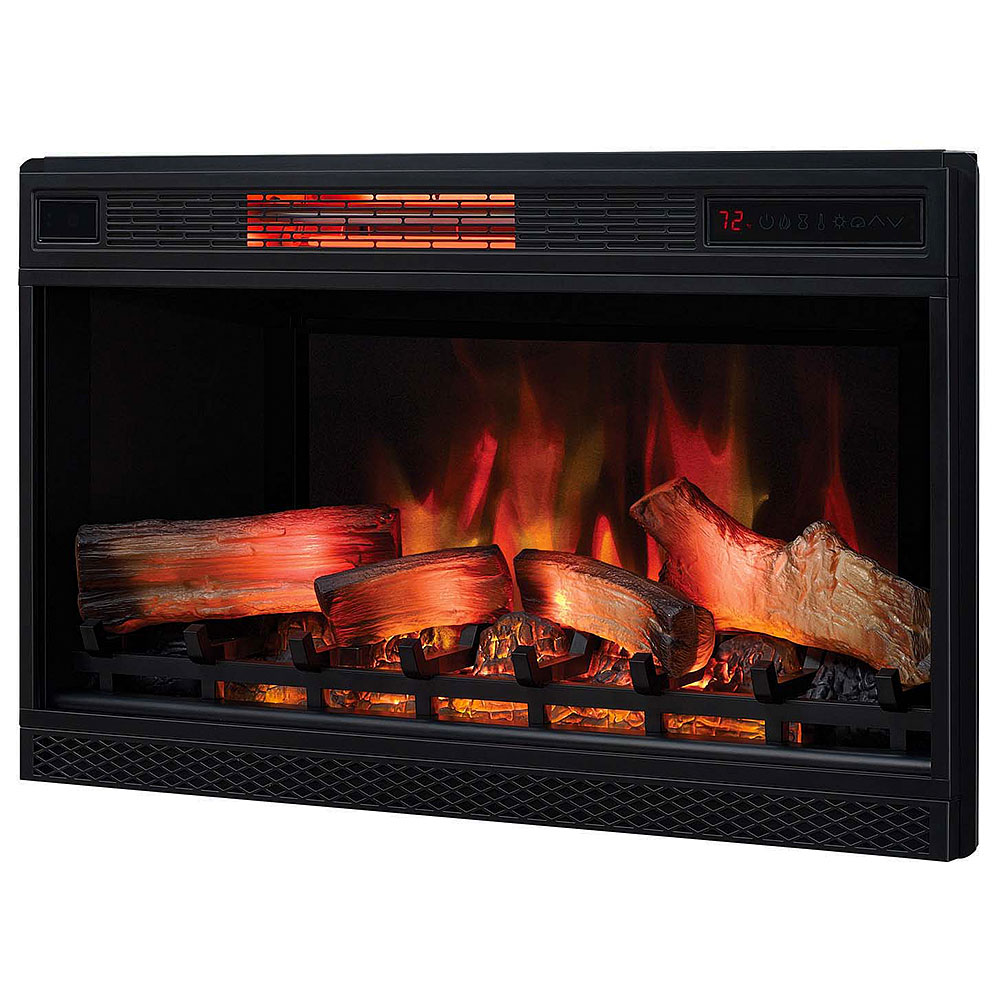 "Plug In Electric Fireplace Inserts: ClassicFlame 32"" 3D SpectraFire Plus Infrared Insert"