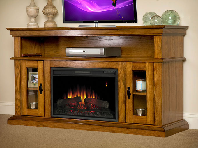 hm stand large electric products tv fireplace led media finish shelf with book console ivory light