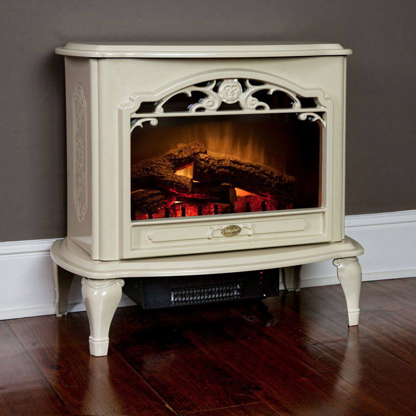 Celeste Freestanding Electric Stove In Cream Tds8515tc