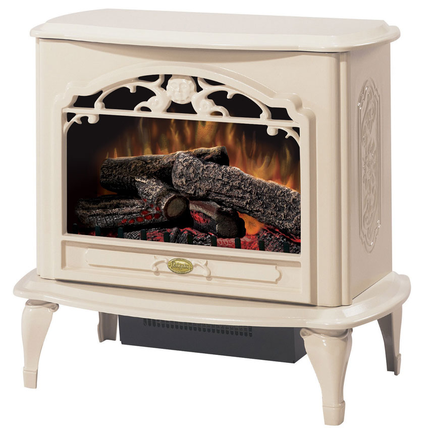 Dimplex Celeste Freestanding Electric Stove In Cream Tds8515tc