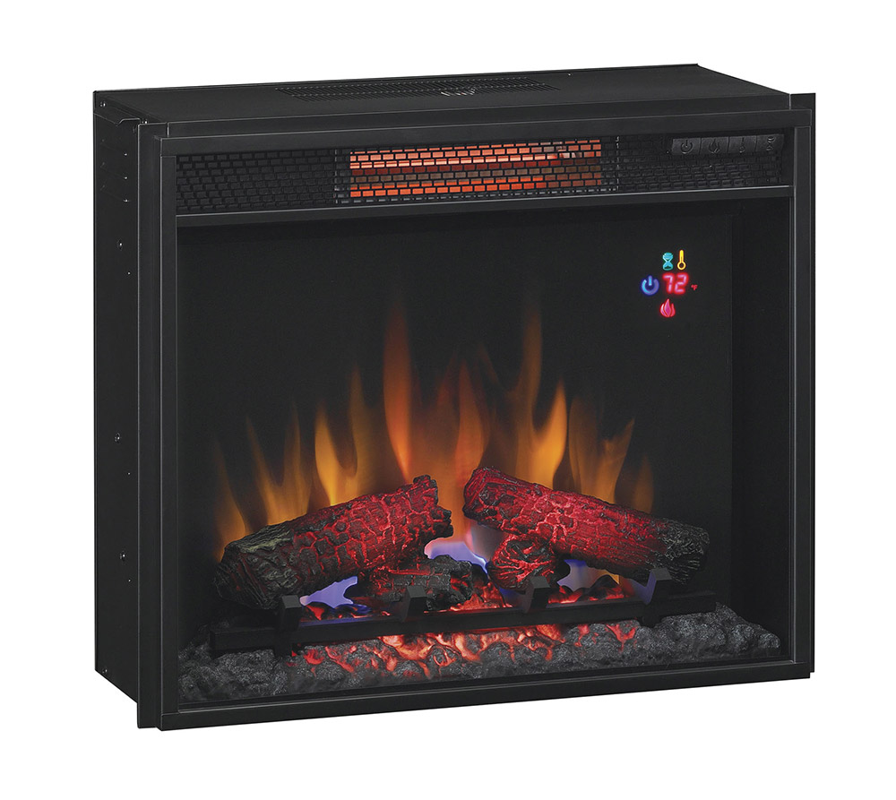 ClassicFlame 23 In Fixed Glass Spectrafire Infrared Quartz