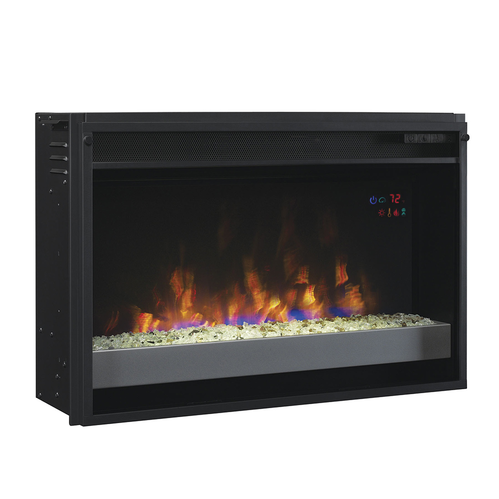Plug In Electric Fireplace Inserts: ClassicFlame 26-In SpectraFire Plus Contemporary Electric