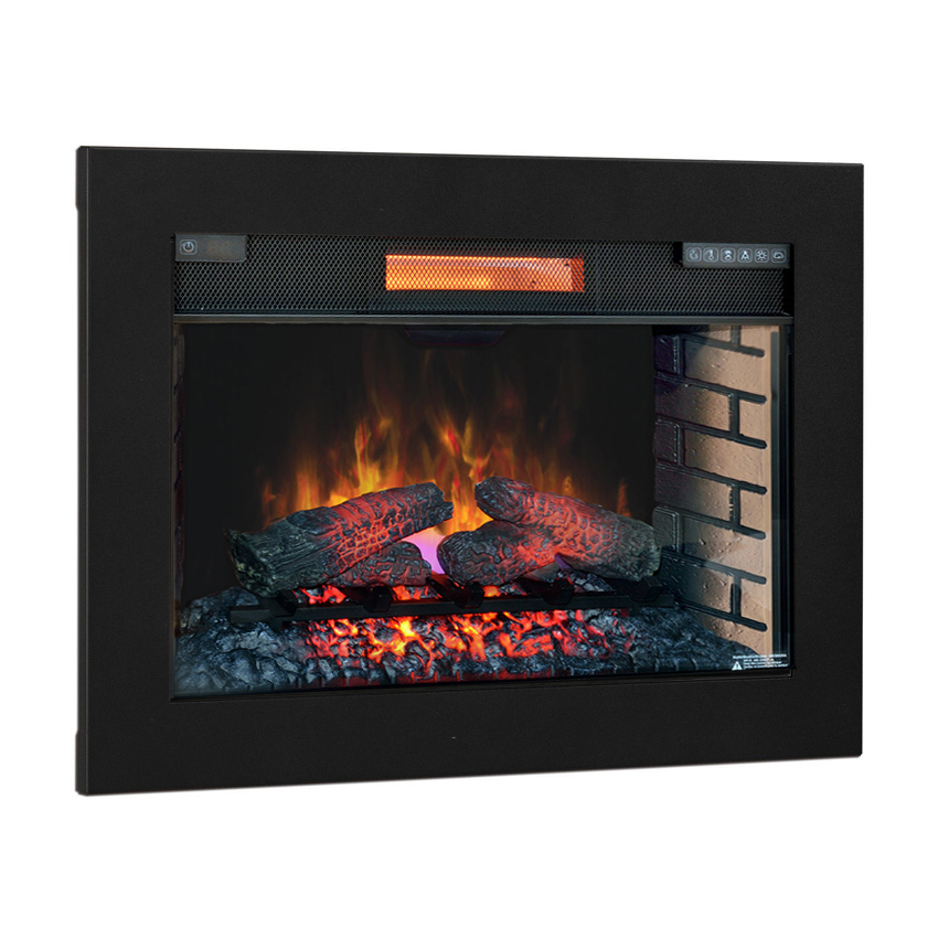 Plug In Electric Fireplace Inserts: ClassicFlame 28-In SpectraFire Plus Infrared Electric