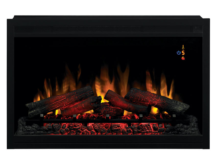 Classicflame 36 in 120v traditional builders box 36eb110 grt for Electric fire inserts dublin