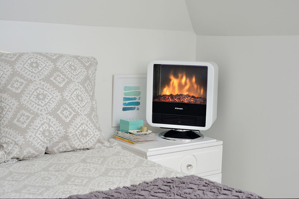 Dimplex Cube Freestanding Electric Stove Dcs19w