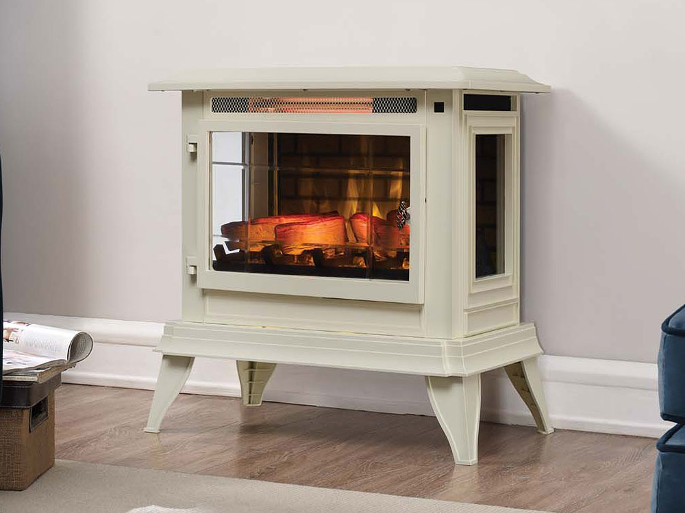 Electric Fireplace Infrared Duraflame 1000 Sq Ft Electric