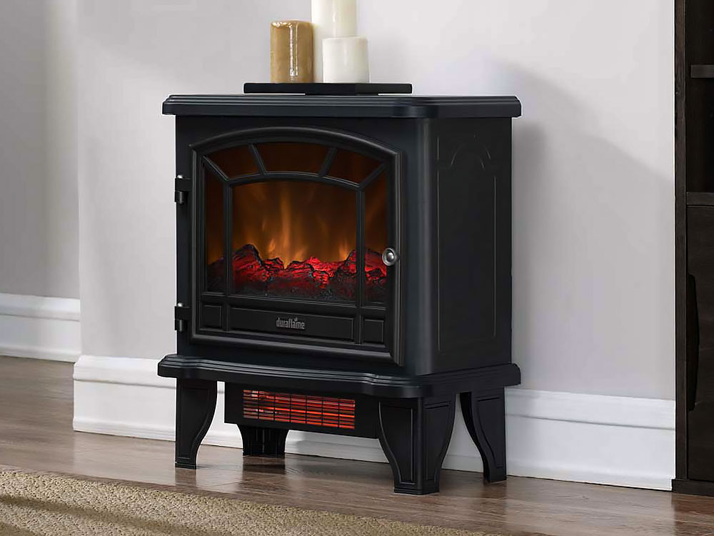 Duraflame Dfi 550 36 Infrared Freestanding Electric Stove