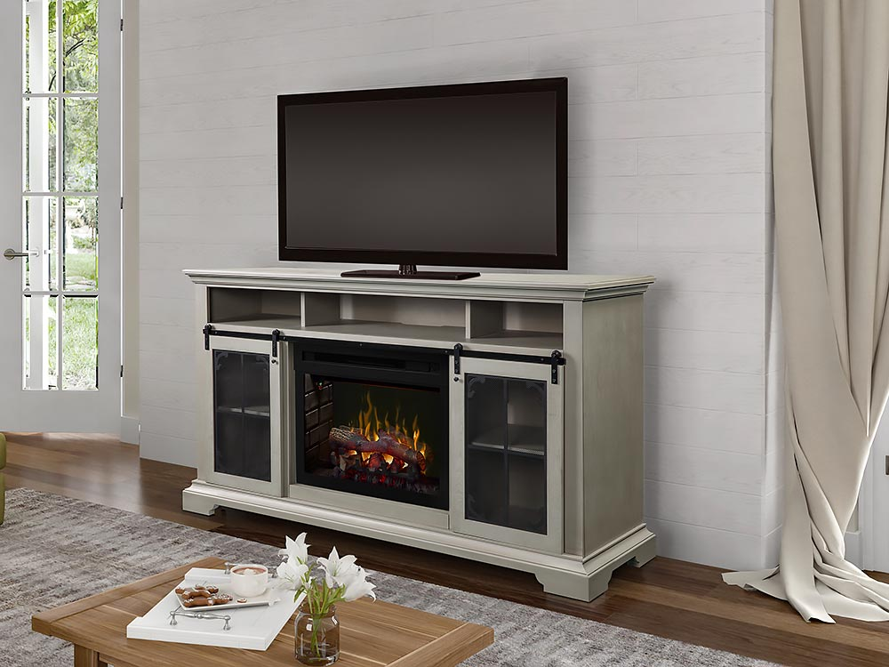 Awesome Olivia Electric Fireplace Tv Stand In Stone Fox Dfp25Ld 1934Sf Interior Design Ideas Gentotthenellocom