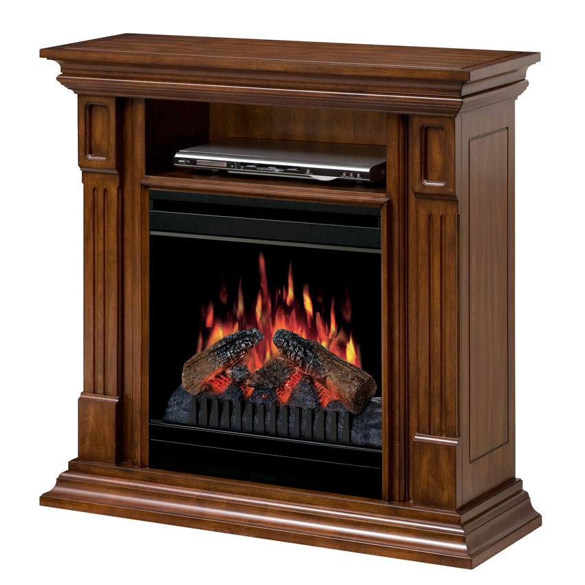 dimplex deerhurst burnished walnut electric fireplace