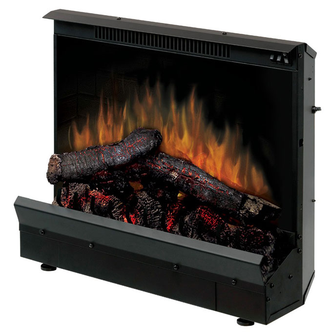 Dimplex 23 Deluxe Electric Fireplace Insert And Led Log Set Dfi2310