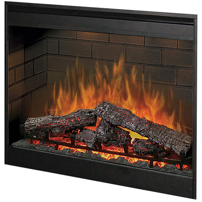 "Plug In Electric Fireplace Inserts: Dimplex 30"" Plug In Electric Fireplace DF3015"
