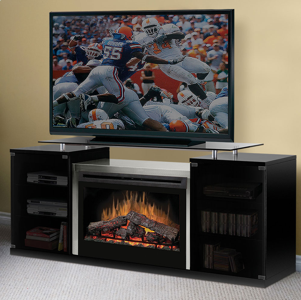 Marana Black Multi Fire Xd Media Electric Fireplace Logs