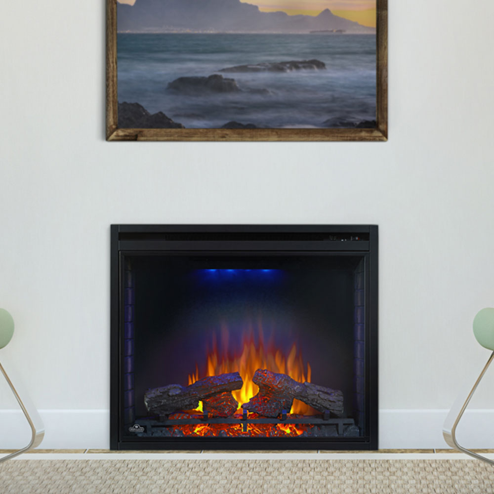Napoleon Ascent 33 In Built In Electric Fireplace Bef33h