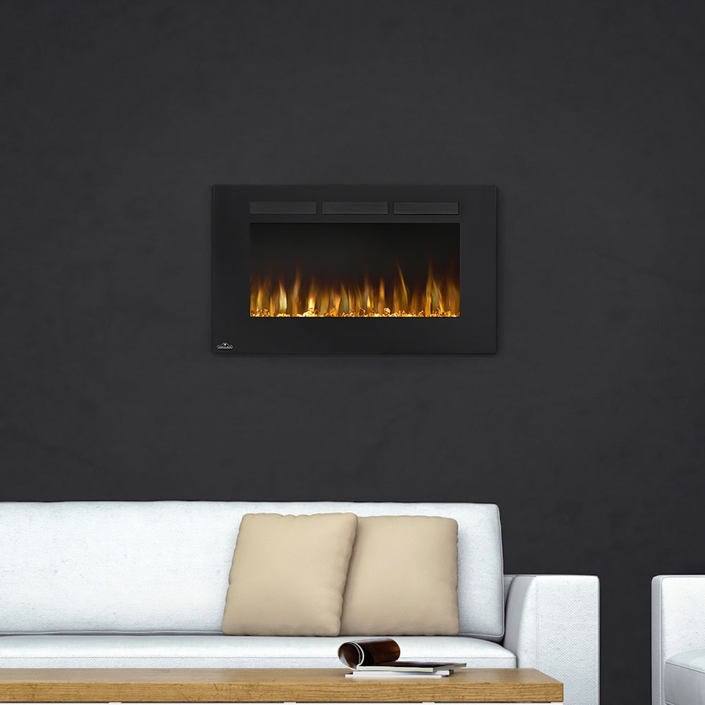mounted wall electric fireplace garden amazon com dp outdoor prokonian
