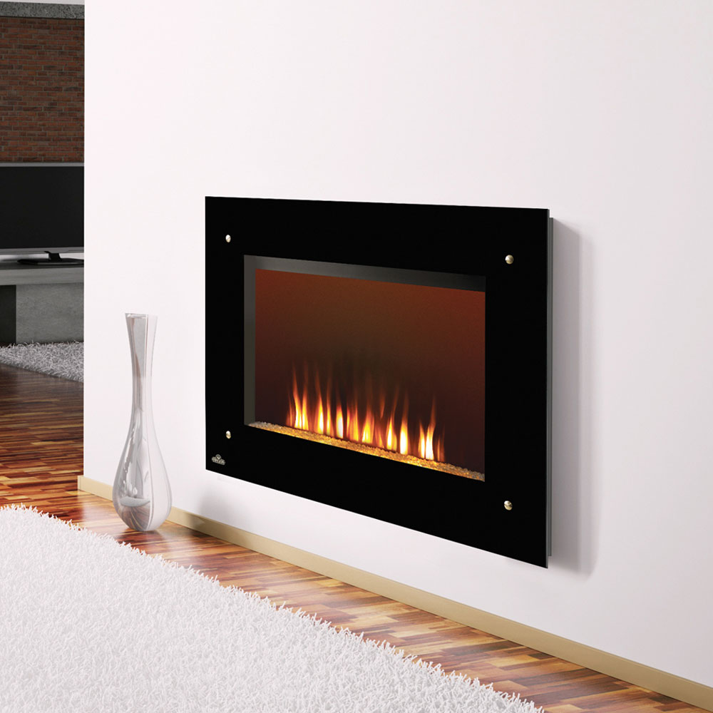 wall mounted electric fireplace stainless steel 281334. wall mount ...